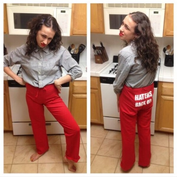 "elegant and graceful better price hottest sale Miranda Sings ""Haters Back Off"" Sweatpants"
